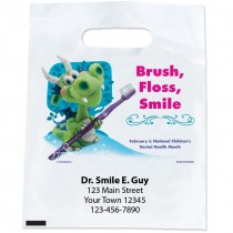 Custom Dental Health Month Bags