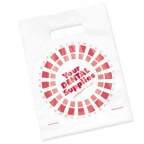Clear Dental Supplies Circle Bags