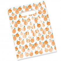 Pumpkin Scatter Print Bags