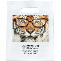 Custom Tiger with Glasses Bags