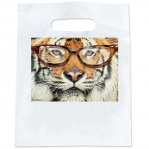 Tiger with Glasses Bags