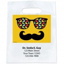 Custom Glasses & Moustache Bags