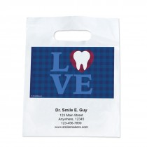 Custom Buffalo Check Dental Love Take Home Bags