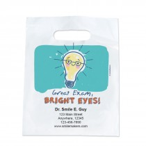 Custom Bright Eyes Light Bulb Take Home Bags