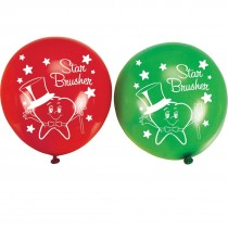 Star Brusher Latex Balloons