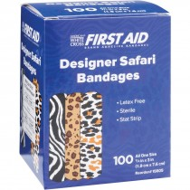First Aid Safari Print Bandages