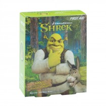 First Aid Shrek Spot Bandages - Case