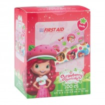 First Aid Strawberry Shortcake Bandages - Case