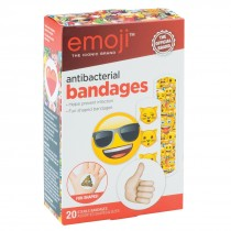 Emoji Antibacterial Bandages - Case
