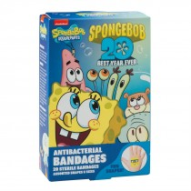 SpongeBob SquarePants Antibacterial Bandages - Case