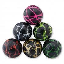 28mm Neon Night Stripe Bouncing Balls