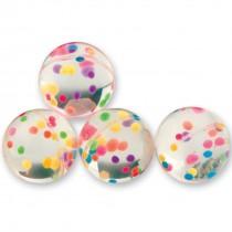28mm Rainbow Dots Bouncing Balls