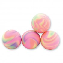 29mm Pastel Cosmic Swirl Bouncing Balls