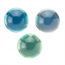 32mm Crystal Two-Tone Bouncing Balls