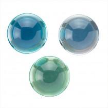 Crystal Two-Tone Bouncing Balls