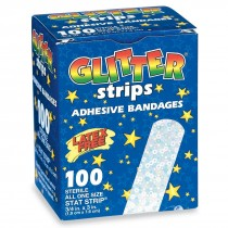 Glitter Strips Bandages