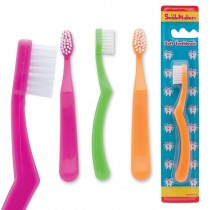 SmileCare Toddler Neon Grip Toothbrushes