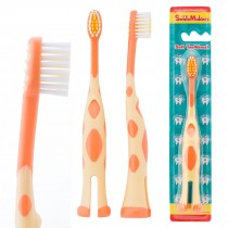 SmileCare Toddler Giraffe Toothbrushes