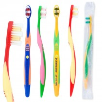 Custom Full Color OraLine Pre-Teen Ages Toothbrush