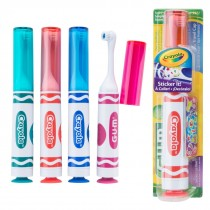 GUM® Crayola™ Youth Power Toothbrushes with Stickers