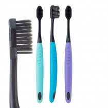 SmileCare Adult Charcoal Soft Bristle Toothbrushes