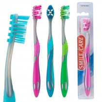 SmileCare Adult Triple Action Toothbrushes