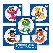 American League Central Mascots Stickers