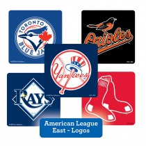 American League East Logos Stickers