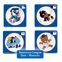 American League East Mascots Stickers
