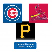 National League Central Logos Stickers