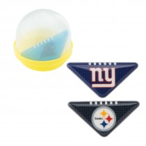 NFL Table Top Footballs in 2'' Capsules