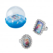 "Disney Frozen Jewel Rings in 2"" Capsules"