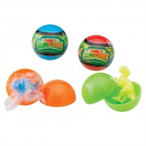 Pearlized Stretchy Dinosaurs Smile Surprize Capsules