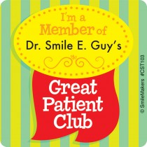 Custom Great Patient Club Stickers