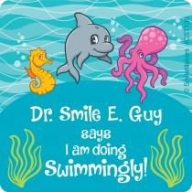 Custom Sea Life Pals Stickers