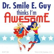 Custom DC Super Hero Girls Stickers