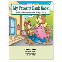 Custom Favorite Bank Coloring Book
