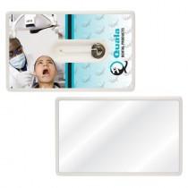 Custom Credit Card Dental Floss with Mirror