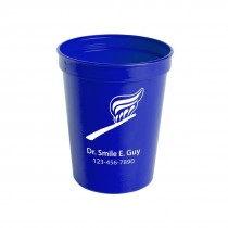 Custom 22 oz Plastic Stadium Cups