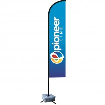 8ft Full Color Bow Flag Kit