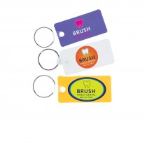 Full Color Rectangle Key Tags