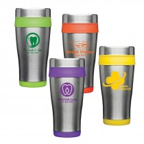 Custom 16oz Stainless Steel Travel Mugs