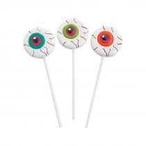 Frosted Eyeball Lollipops