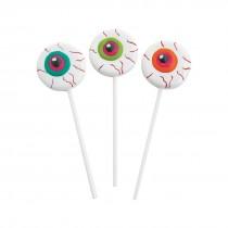 Frosted Eyeball Lollipops