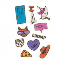 Doodle Dums StickyLickits Edible Sticker Packs
