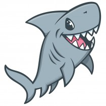 Sea Life Pals Shark Wall Cling