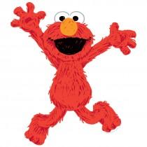 Elmo Sesame Street Wall Cling