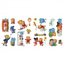 Daniel Tiger Assorted Wall Decals