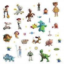 Toy Story 4 Assorted Wall Decals