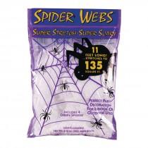 Stretchy White Spiderweb